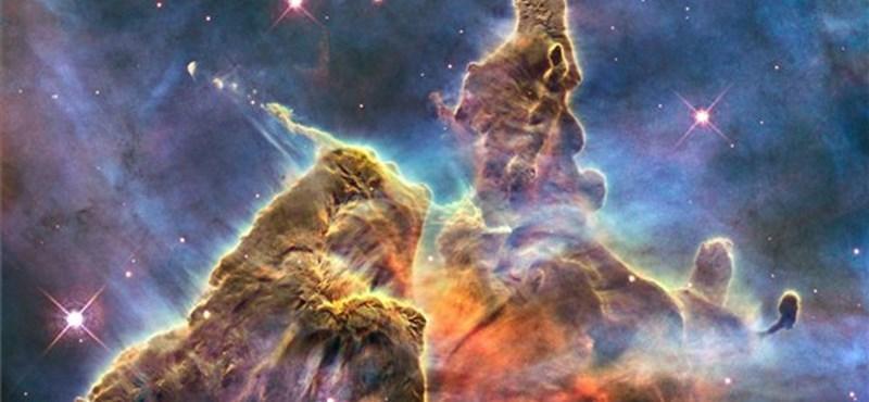 A nap képe: NASA/ESA-évforduló – a Carina Nebula kaotikus csillagköd
