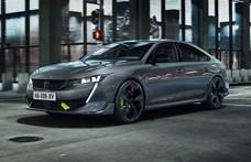 360 lóerős hibrid a Peugeot szülinapi autója
