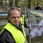 Megkezdődött a rendvédelmisek tüntetéssorozata