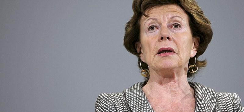 A Klubrádió elnökével tárgyalt Brüsszelben Neelie Kroes