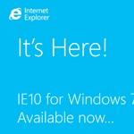 Itt a végleges IE10 Windows 7-re