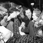 Thatcher Budapesten: a Vaslady találkozott a Vasférfivel - videó
