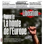 """""""Magyarország Európa szégyene"""" - szögesdrótos címlapot kaptunk a franciáktól"""