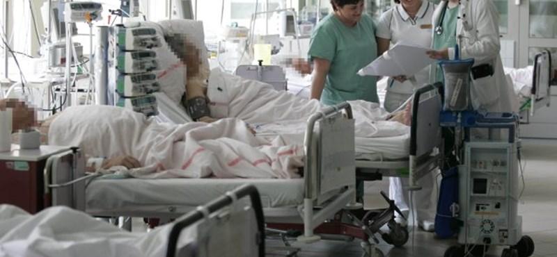 Megtelt kórházak: pénzbírságot kapnak, ha nem fogadják a súlyos betegeket