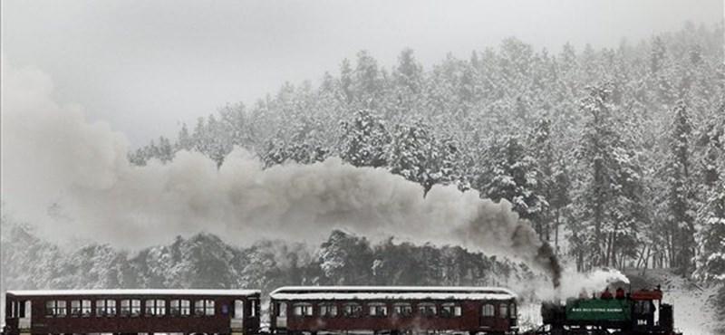 Mesebeli fotók: Így havazott szeptember 11-én az USA-ban