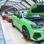 Közel 400 milliárd forinttal csökkent a magyar Audi-gyár bevétele tavaly, de adózott eredménye 53 milliárddal nőtt