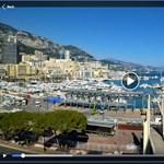 Elképesztő tempóban alakították át Monacót versenypályává – videó