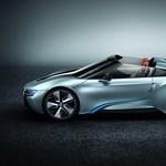 Kabrió is lesz a BMW i8-ból