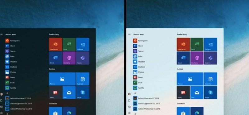 Windows van a gépén? Már most beállíthatja az új Start menüt