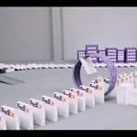 A FedEx jóvoltából sajátos dominóépítményben gyönyörködhetünk (videó)