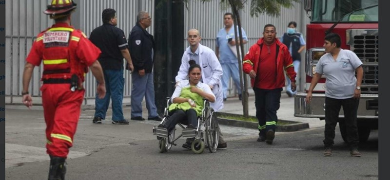 Egy perui kórházban robbantottak, 20 sérült