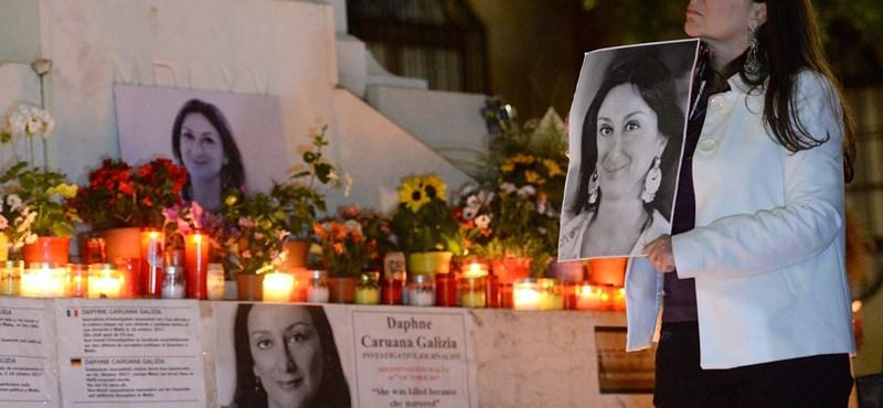 Máltai újságíró-gyilkosság: őrizetbe vették a miniszterelnök lemondott kabinetfőnökét