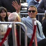 Daniel Craig received a star on the Walk of Fame