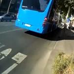 Kirúgják a biciklist gázoló buszsofőrt
