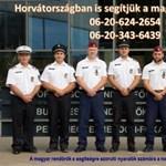 Az elmaradhatatlan nyári hír: magyar rendőrök érkeztek Zadarba