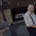 A nap videója: először utazott Teslában a 97 éves nagypapa, és imádta