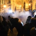 Egy diákot is letartóztattak a szerdai tüntetésen: a Szabad Egyetem csoport szerint ártatlan