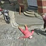 Gyilkossággal viccelődtek a Google Street View-n