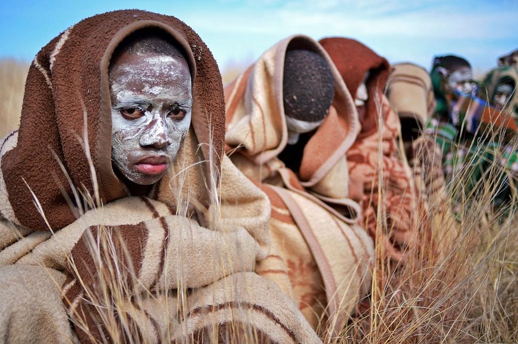 Xhosa törzs, körülmetélés ünnepség