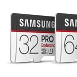 43 800 órányi terhelést bír el a Samsung új memóriakártyájára