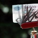 A forint gyengült a frankhoz képest