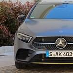 Újabb zöld rendszámos, jön a plugin hibrid Mercedes A-osztály