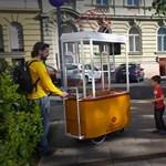 Miniatűr BKV járműveken érkezik az új street food őrület