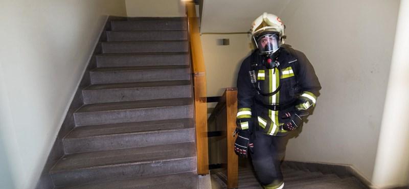 Tűz volt egy újbudai kollégiumban, csaknem ezer embert kellett kimenekíteni