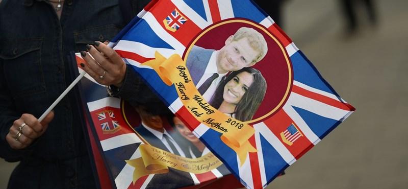 Nem verik a fogukhoz a garast Harry herceg és Meghan Markle esküvőjén