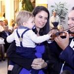 A másfél éves Zente díszvendég volt Mága Zoltán koncertjén