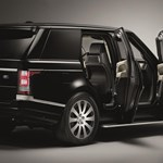 Csak az ára nem diszkrét ennek a gyárilag páncélozott Range Rovernek