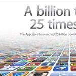 Kínai vásárló lett a 25 milliárdodik az App Store-ban