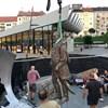Szobrot kapott Széll Kálmán a róla elnevezett téren - fotók
