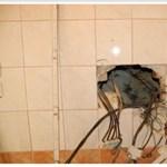 Rendőrök razziáztak a balatonfüredi házban, amit lopott árammal fűtöttek – videó