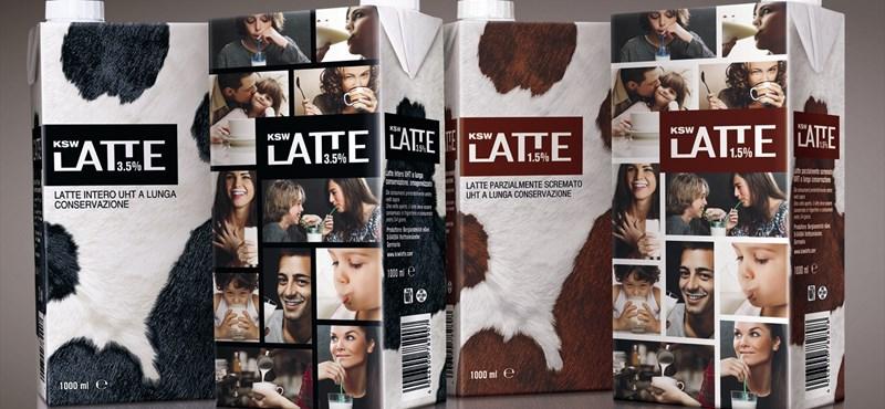 Magyar tejesdoboz nyert nemzetközi dizájndíjat - fotó