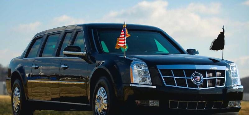 Barack Obama elnöki limuzinjának titkai