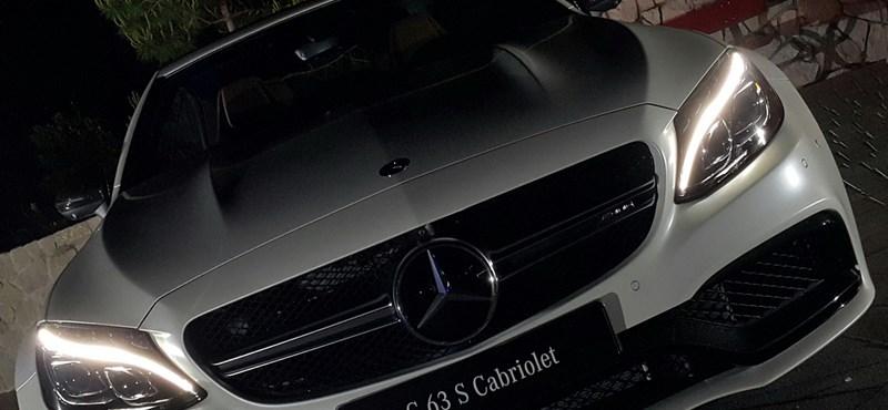 Első kémfotók: íme a teljesen új Mercedes C-osztály