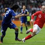 """Baj van Rooney fejében"""