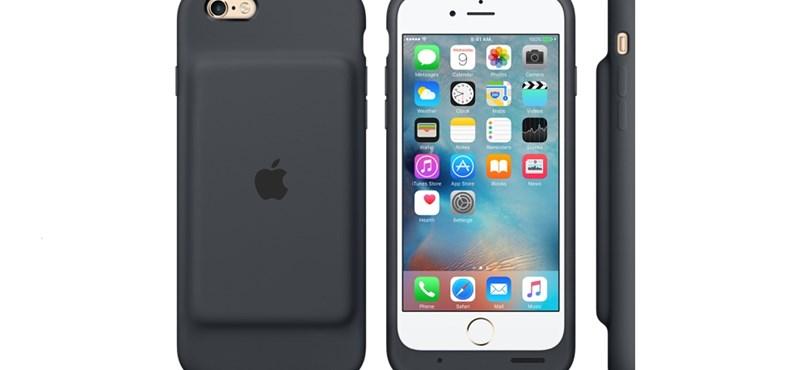 Ijesztően csúnya lett az Apple első akkumulátoros iPhone-tokja