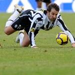 Del Piero nemet mondott a Honvédnak