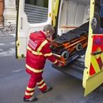 Pappal küzdöttek a mentők egy beteg életéért
