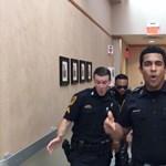 Az amerikai rendőröknek ez a móka is belefért, akár a magyarok is vállalhatnák – videó