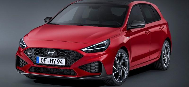 Megújult a Hyundai i30 és hibrid is lett