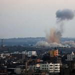 Izrael a gázai terroristákat bombázta