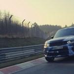 A Range Rover Sport az új rekorder a Nürburgringen