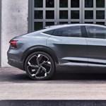 Először bukkant fel a forgalomban az Audi legújabb elektromos autója – videó