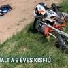 Meghalt a 9 éves fiú, aki múlt hétvégén szenvedett balesetet a monori motocross-pályán
