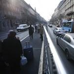 Vasárnap rázós lesz autózni Budapest belvárosában