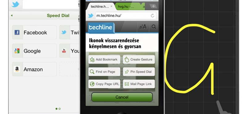 A hét iOS alkalmazása: Dolphin Browser