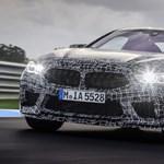 Hivatalos fotókon a 600+ lóerős új BMW M8